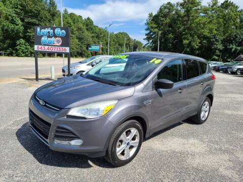 2013 Ford Escape for sale at Let's Go Auto in Florence SC