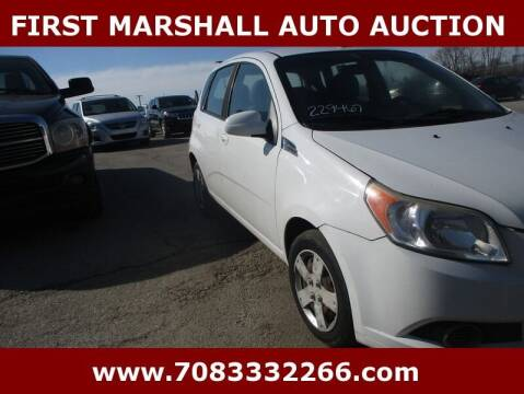 2011 Chevrolet Aveo for sale at First Marshall Auto Auction in Harvey IL