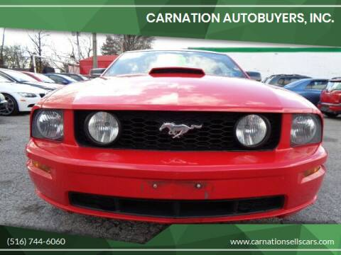 2007 Ford Mustang for sale at CarNation AUTOBUYERS, Inc. in Rockville Centre NY