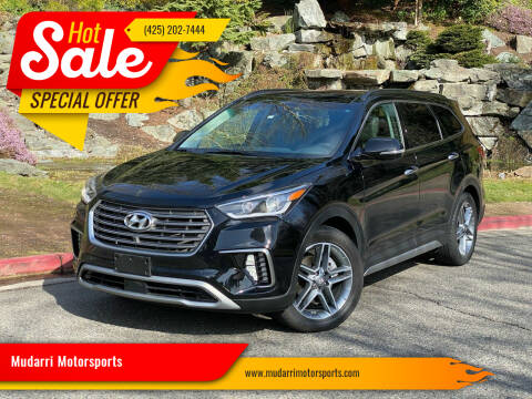 2019 Hyundai Santa Fe XL for sale at Mudarri Motorsports in Kirkland WA