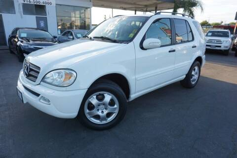 2003 Mercedes-Benz M-Class for sale at Industry Motors in Sacramento CA