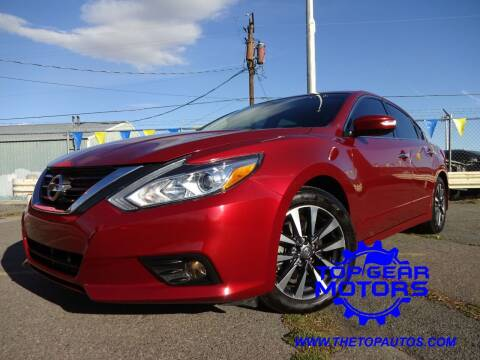 2016 Nissan Altima for sale at Top Gear Motors in Union Gap WA