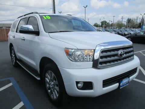 2010 Toyota Sequoia for sale at Choice Auto & Truck in Sacramento CA
