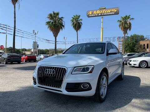 2014 Audi Q5 for sale at A MOTORS SALES AND FINANCE - 5630 San Pedro Ave in San Antonio TX