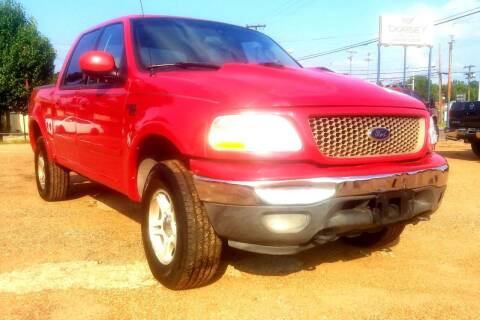 2002 Ford F-150 for sale at Dorsey Auto Sales in Tyler TX