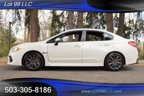 2020 Subaru WRX for sale at LOT 99 LLC in Milwaukie OR