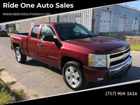 2008 Chevrolet Silverado 1500 for sale at Ride One Auto Sales in Norfolk VA