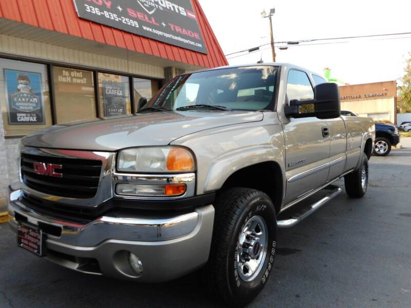 2003 GMC Sierra 2500HD for sale at Super Sports & Imports in Jonesville NC