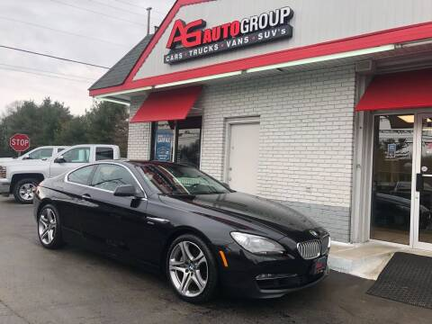 2012 BMW 6 Series for sale at AG AUTOGROUP in Vineland NJ