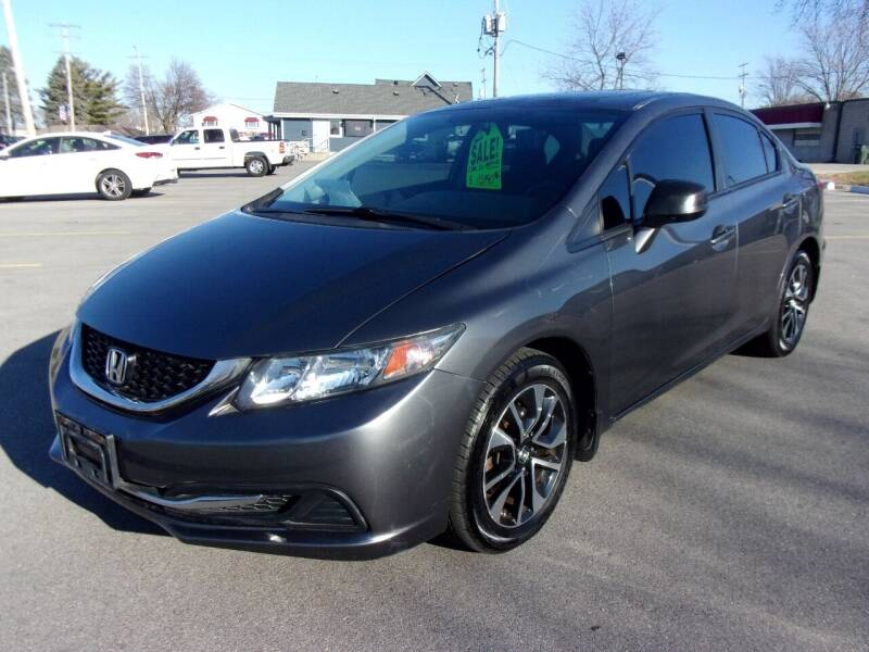 2013 Honda Civic for sale at Ideal Auto Sales, Inc. in Waukesha WI