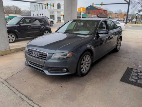 2011 Audi A4 for sale at ROBINSON AUTO BROKERS in Dallas NC