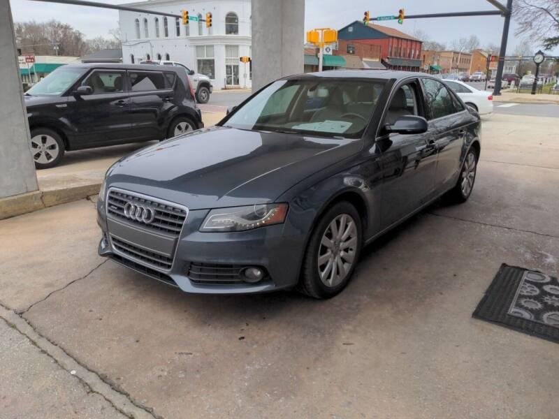 2011 Audi A4 for sale at ROBINSON AUTO BROKERS in Dallas NC