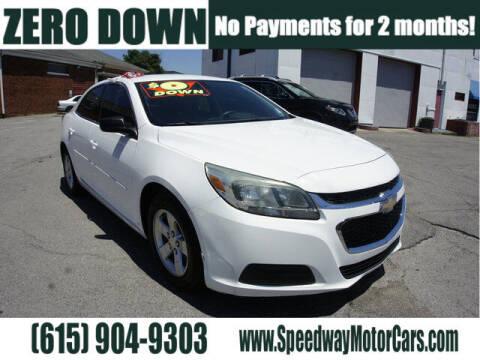 2015 Chevrolet Malibu for sale at Speedway Motors in Murfreesboro TN