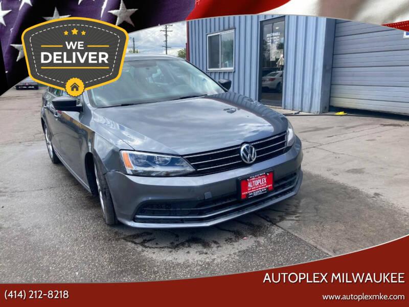2015 Volkswagen Jetta for sale at Autoplex 2 in Milwaukee WI