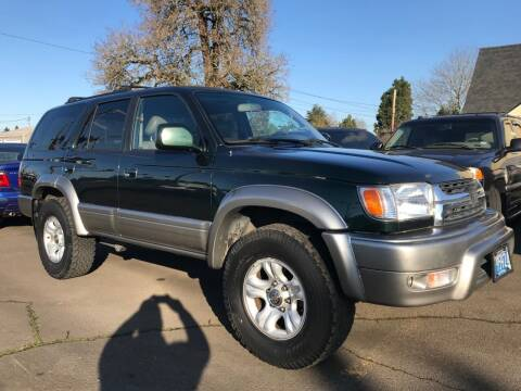 2001 Toyota 4Runner for sale at Chuck Wise Motors in Portland OR