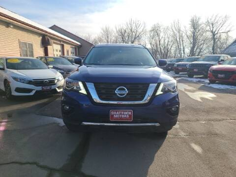 2020 Nissan Pathfinder for sale at Shattuck Motors in Newport VT