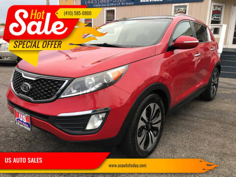 2011 Kia Sportage for sale at US AUTO SALES in Baltimore MD