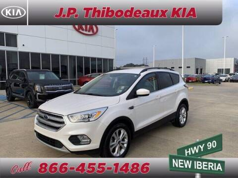 2017 Ford Escape for sale at J P Thibodeaux Used Cars in New Iberia LA