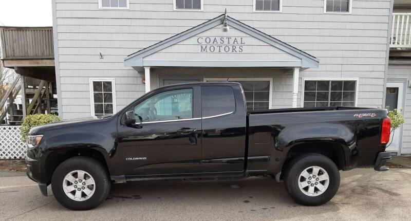 2017 Chevrolet Colorado for sale at Coastal Motors in Buzzards Bay MA