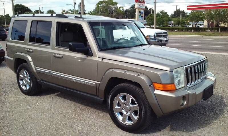 2006 Jeep Commander for sale at Pinellas Auto Brokers in Saint Petersburg FL
