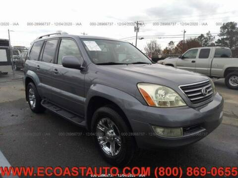 2007 Lexus GX 470 for sale at East Coast Auto Source Inc. in Bedford VA