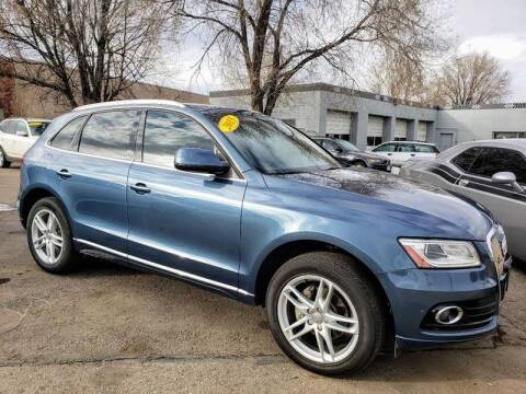 2015 Audi Q5 for sale at J & M PRECISION AUTOMOTIVE, INC in Fort Collins CO