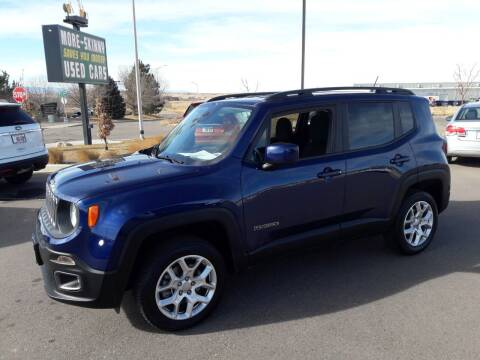 2017 Jeep Renegade for sale at More-Skinny Used Cars in Pueblo CO