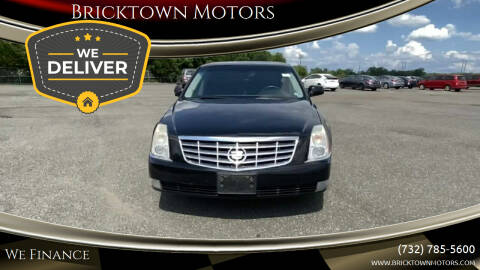 2010 Cadillac DTS for sale at Bricktown Motors in Brick NJ