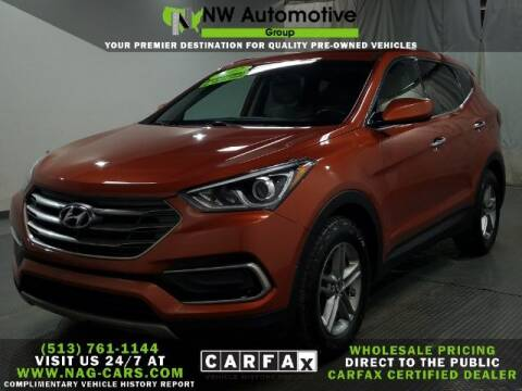 2017 Hyundai Santa Fe Sport for sale at NW Automotive Group in Cincinnati OH