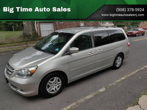 2007 Honda Odyssey for sale at Big Time Auto Sales in Vauxhall NJ