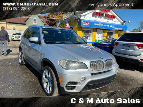 2011 BMW X5 for sale at C & M Auto Sales in Detroit MI