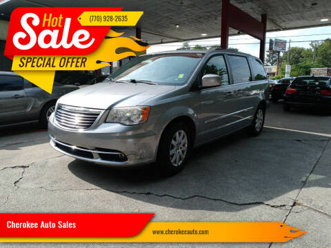 2014 Chrysler Town and Country for sale at Cherokee Auto Sales in Acworth GA