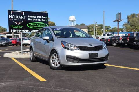 2013 Kia Rio for sale at Hobart Auto Sales in Hobart IN