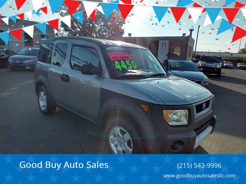 2003 Honda Element for sale at Good Buy Auto Sales in Philadelphia PA