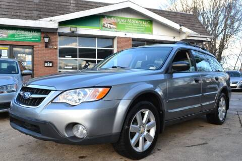 2008 Subaru Outback for sale at RODRIGUEZ MOTORS LLC in Fredericksburg VA