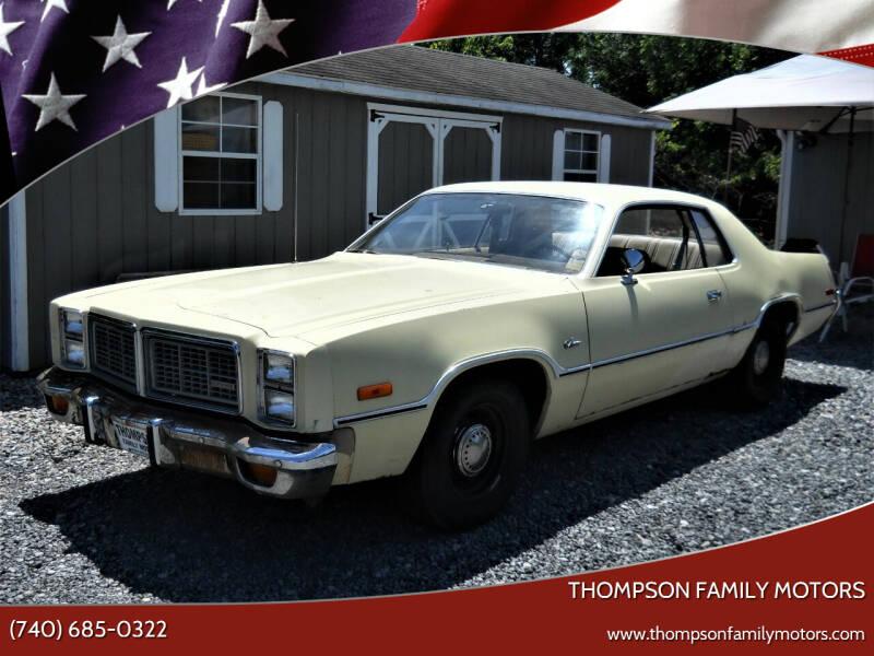1977 Dodge Monaco for sale at THOMPSON FAMILY MOTORS in Senecaville OH