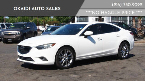 2014 Mazda MAZDA6 for sale at Okaidi Auto Sales in Sacramento CA