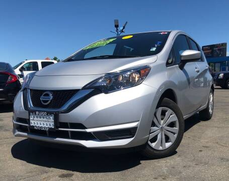 2018 Nissan Versa Note for sale at LUGO AUTO GROUP in Sacramento CA