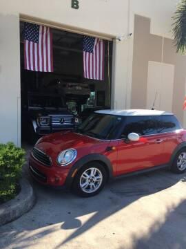 2013 MINI Hardtop for sale at AUTOSPORT MOTORS in Lake Park FL
