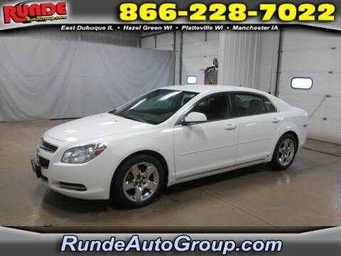 2009 Chevrolet Malibu for sale at Runde Chevrolet in East Dubuque IL