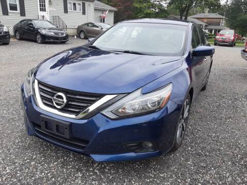 2016 Nissan Altima for sale at Cappy's Automotive in Whitinsville MA