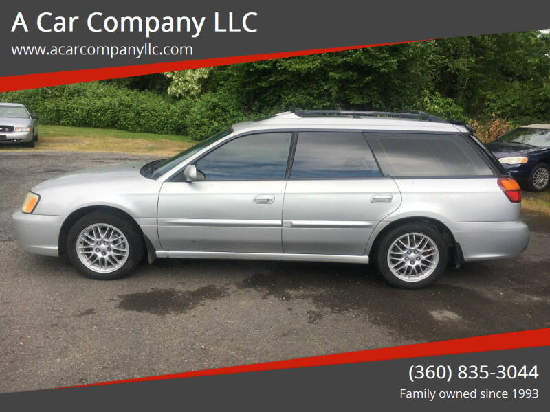 2003 Subaru Legacy for sale at A Car Company LLC in Washougal WA