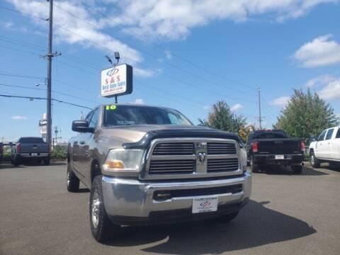 2010 Dodge Ram Pickup 2500 for sale at S&S Best Auto Sales LLC in Auburn WA