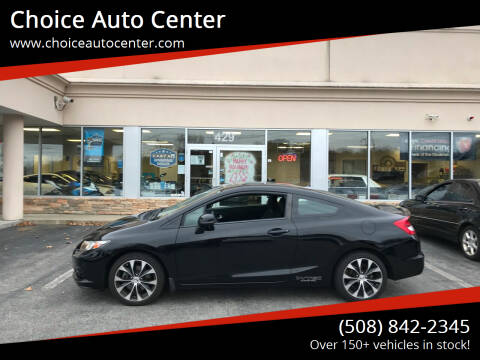 2013 Honda Civic for sale at Choice Auto Center in Shrewsbury MA