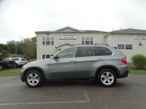 2009 BMW X5 for sale at SOUTHERN SELECT AUTO SALES in Medina OH