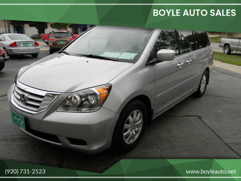 2010 Honda Odyssey for sale at Boyle Auto Sales in Appleton WI