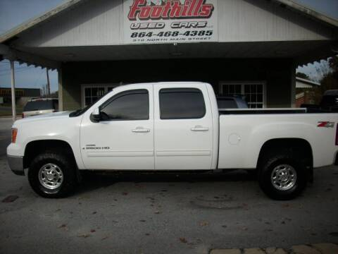2008 GMC Sierra 2500HD for sale at Foothills Used Cars LLC in Campobello SC