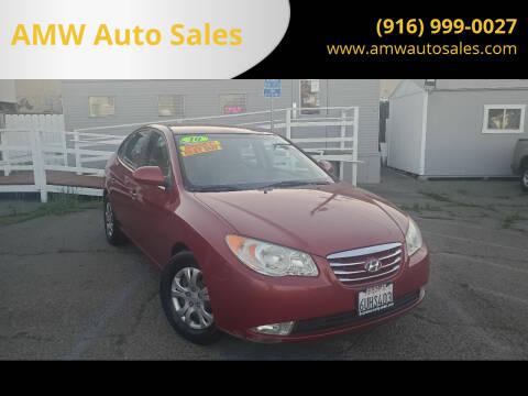 2010 Hyundai Elantra for sale at AMW Auto Sales in Sacramento CA