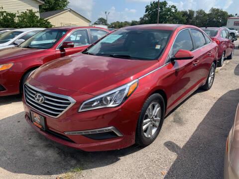 2015 Hyundai Sonata for sale at MILLENIUM MOTOR SALES, INC. in Rosenberg TX