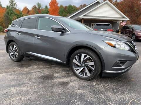 2017 Nissan Murano for sale at Drivers Choice Auto & Truck in Fife Lake MI